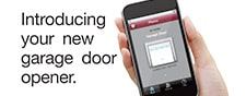 Operate your garage door vis Smarphone