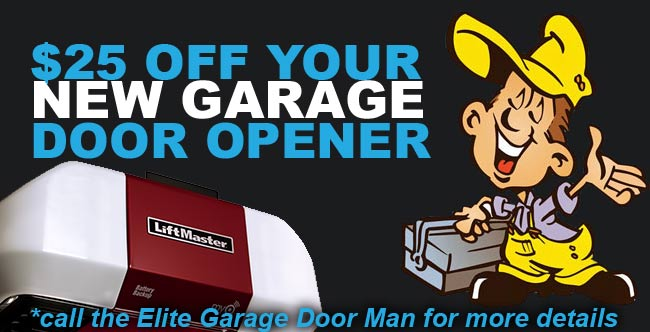 $25 Off Your New Garage Door Opener
