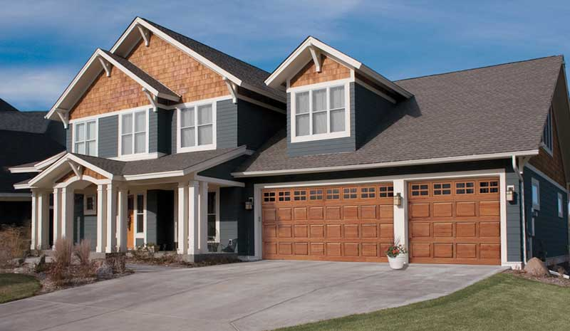 Garage door styles and types garage door repair service for Garage styles pictures